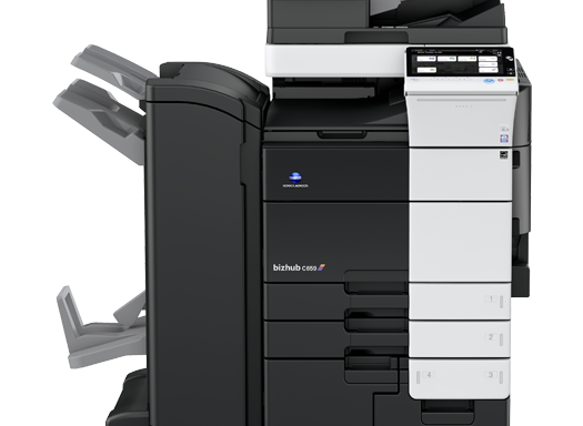 Bizhub C454/554 Color  Copier MFP